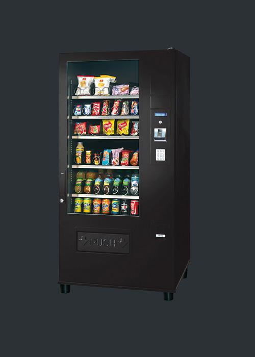 Snackautomat kaufen Modell Budget mit Cafebar Automatenservice