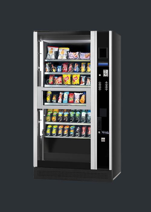 Snackautomaten kaufen mit Lift Modell Evolution mit Cafebar Automatenservice
